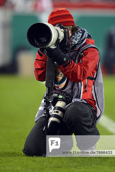 Press photographer  sports photographer  Mercedes-Benz Arena