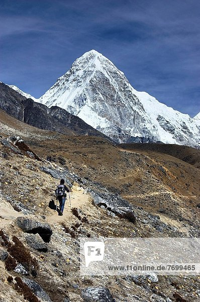 Mount Everest  Sagarmatha  Nepal