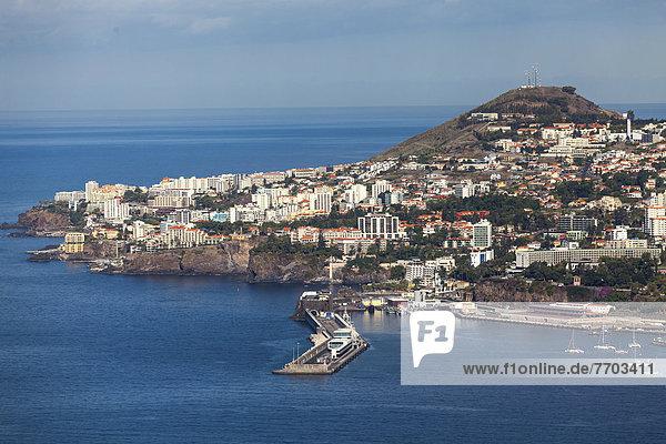 Ortsansicht von Funchal