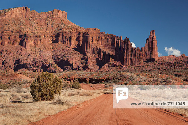 Fisher Towers Felsformationen bei Moab