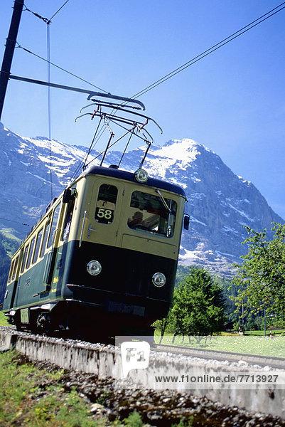 Trolly On Jungfrau