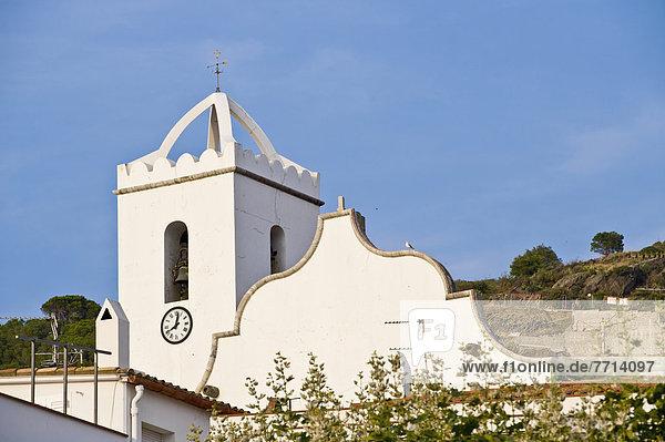 Hafen Kirche Dorf