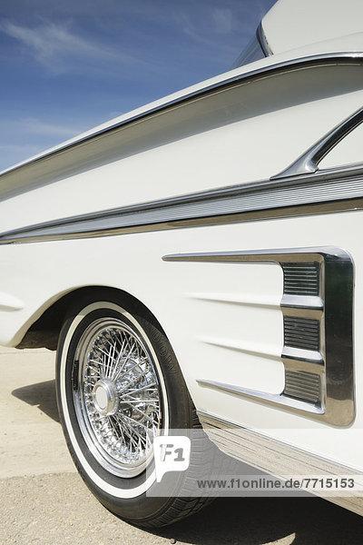 White Chevrolet Impala  Edmonton Alberta Canada