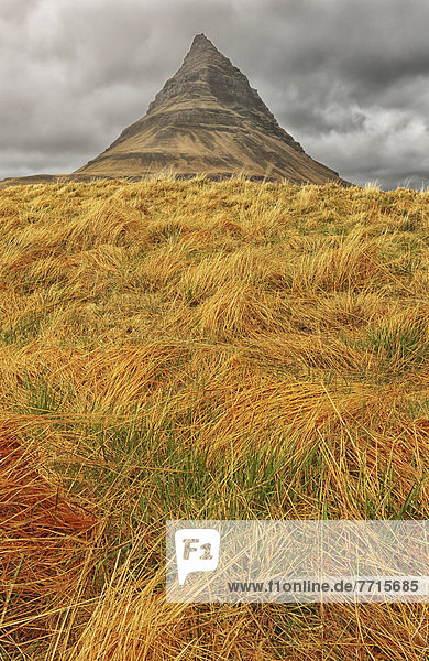 Berg  Halbinsel  Snaefellsnes