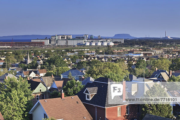 Homes and industrial buildings  thunder bay ontario canada