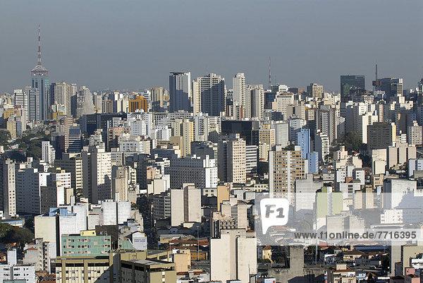 Skyline  Skylines  Großstadt  Ansicht  Erhöhte Ansicht  Aufsicht  heben