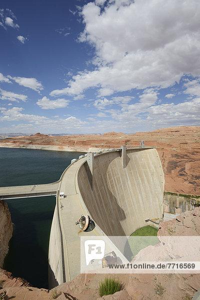 Fluss  Damm  Tal  Schlucht  Colorado