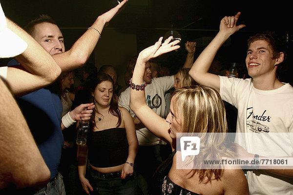 Mensch  Menschen  tanzen  Nachtklub
