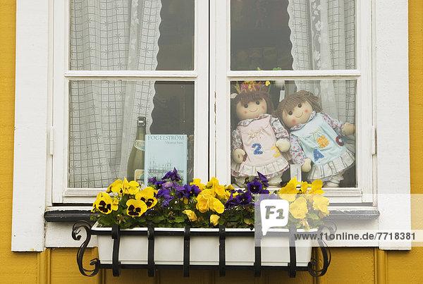 Gift Shop Window At Handelsman Flink At Flaton  Bohuslan Archipelago  Sweden