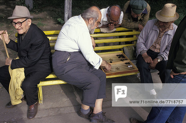Mann , Spiel , Sitzbank,  Bank , Backgammon , alt