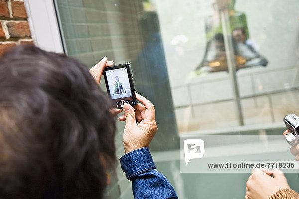 Frau  Freiheit  fotografieren  Glocke