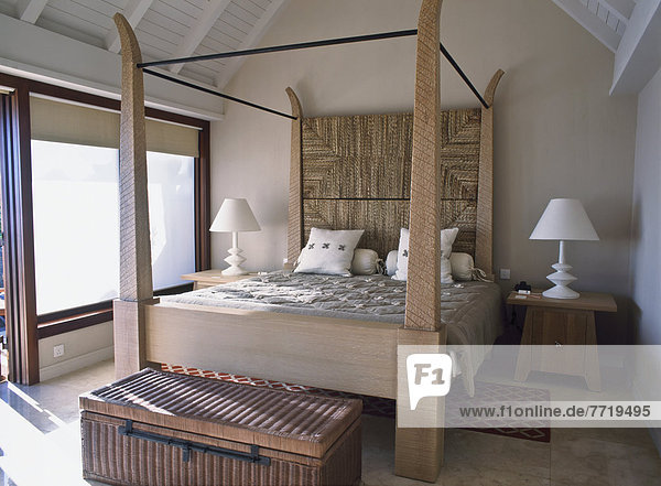 Bed In Holiday Home