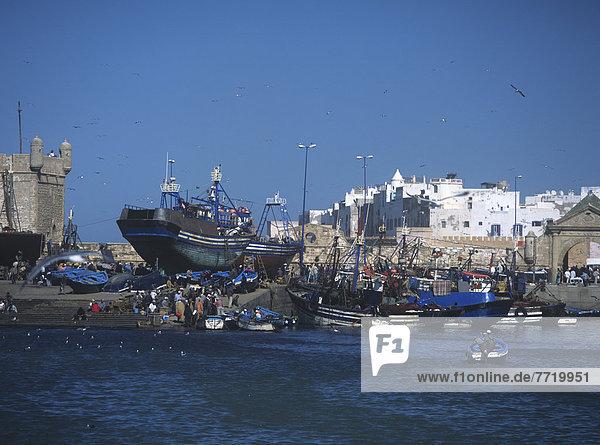 Hafen  Boot