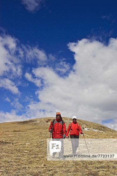 gehen  wandern  Alberta  Kanada  Hang