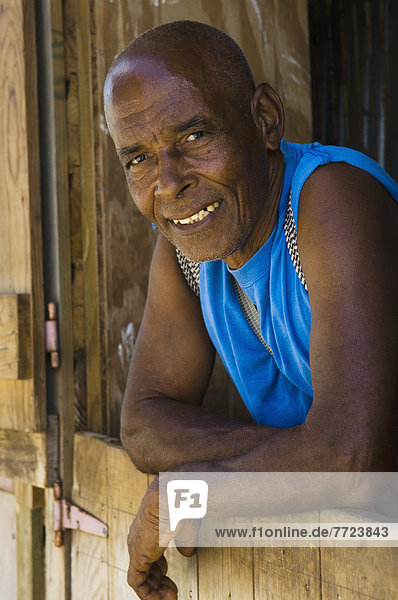 Telfor Bedeau. Legendary Grenadian Hiker And Guide Known Locally As The Indiana Jones Of Grenada. Grenada. Caribbean. Photo©Chris Parker/Axiom