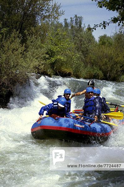 Wasser  weiß  Wildwasser  Oregon  Rafting