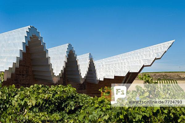 Weingut  Wahrzeichen  Architekt  Design  Laguardia  Spanien  spanisch