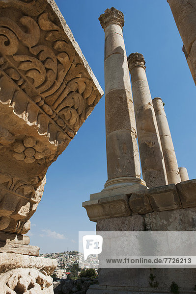 The Ancient City Of Jerash  Jordan  Middle East