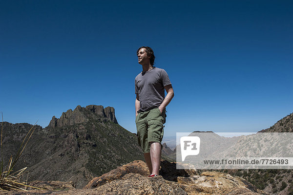 Hiking In The Chisos Basin  Big Bend National Park  Texas  Usa