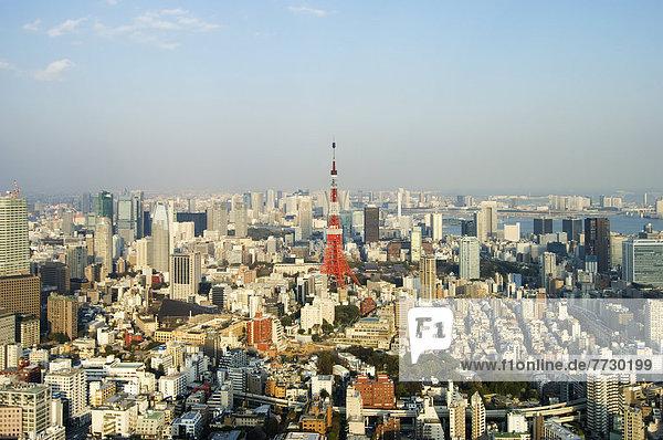 Hügel  Tokyo  Hauptstadt  Japan