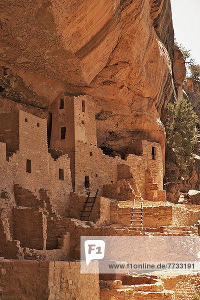 Vereinigte Staaten von Amerika USA Nationalpark Steilküste Ruine Wohnhaus Colorado Mesa