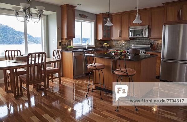 Küche Ansicht modern