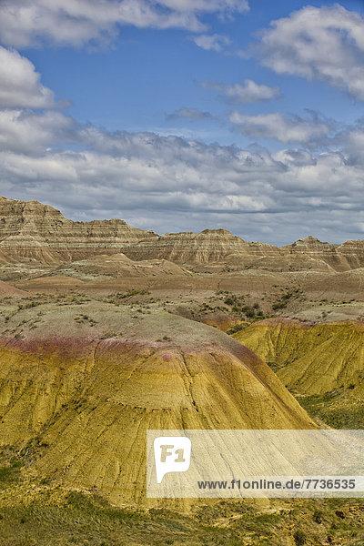Nationalpark  Sonnenstrahl  Amerika  gelb  Steppe  Treffer  treffen  Verbindung  Nachmittag  Geographie  South Dakota