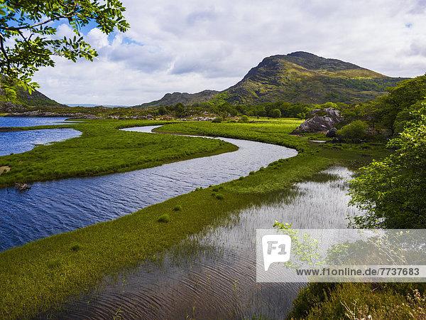 Irish landscape Glenngarriff county cork ireland