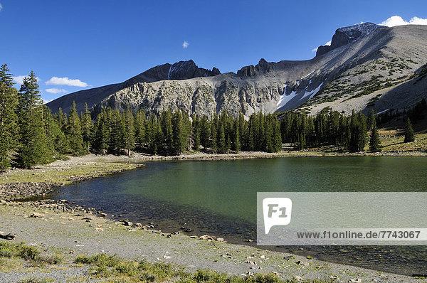 USA  Nevada  Teresa Lake unterhalb des Mount Wheeler Peaks im Great Basin National Park