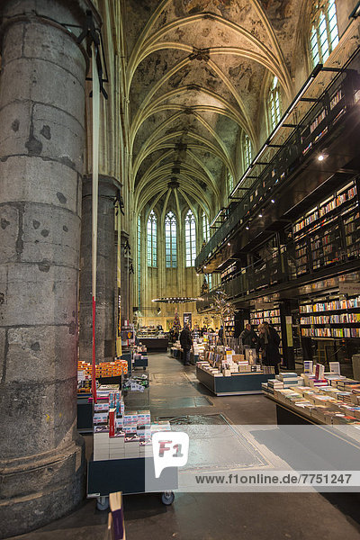 Selexyz Dominicanen bookstore  in a Dominican church from the 13th century