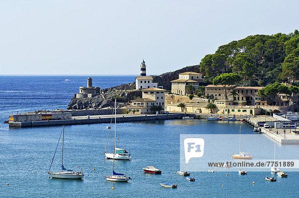 Hafen Ansicht Mallorca Bucht