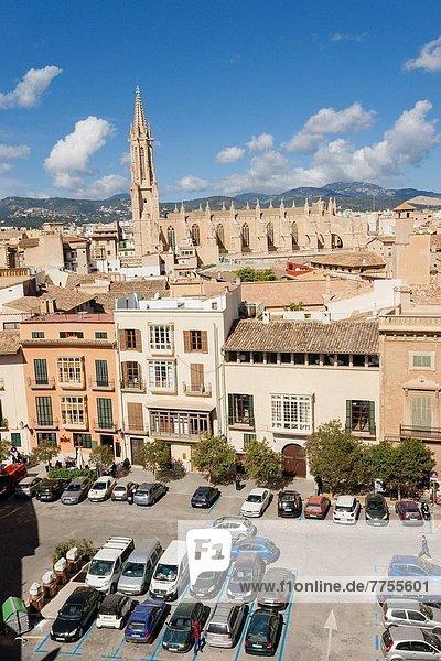Kirche  Mallorca  Gotik  Balearen  Balearische Inseln  Spanien