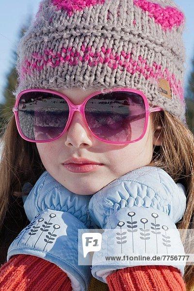 Portrait  Winter  Tag  Sonnenlicht  Mädchen
