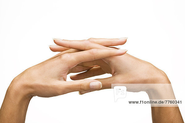Frauenhände  Nahaufnahme