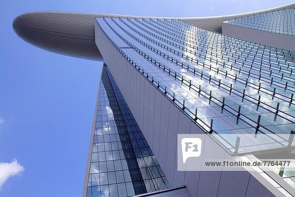 Hochhaus  Hotel  Architektur  Design  Fußgängerbrücke  Marina Bay Sands  Singapur