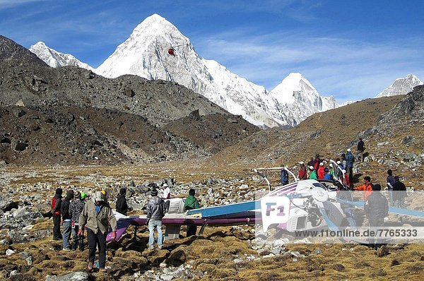 Mount Everest  Sagarmatha  Hubschrauber  Unfall  Geographie  Nepal
