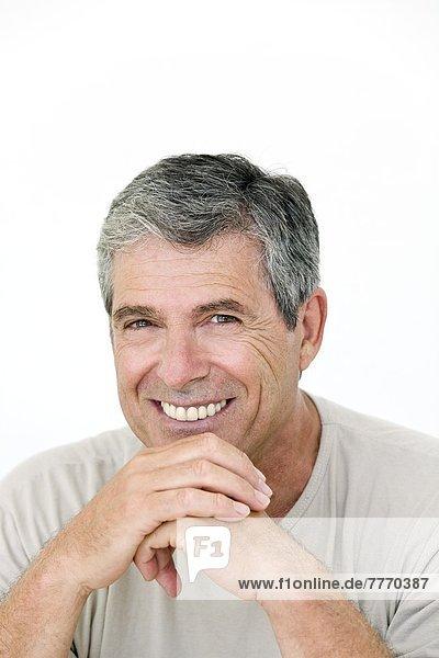 Portrait of a senior man  indoors