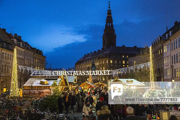 Weihnachtsmarkt auf dem Høbro Plads Weihnachtsmarkt auf dem Høbro Plads