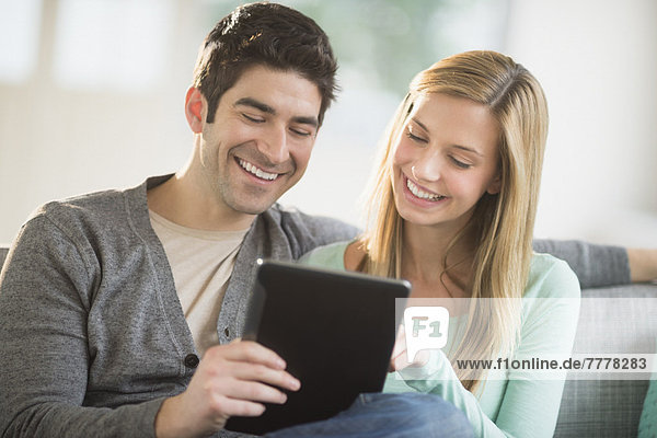 benutzen Computer Tablet PC