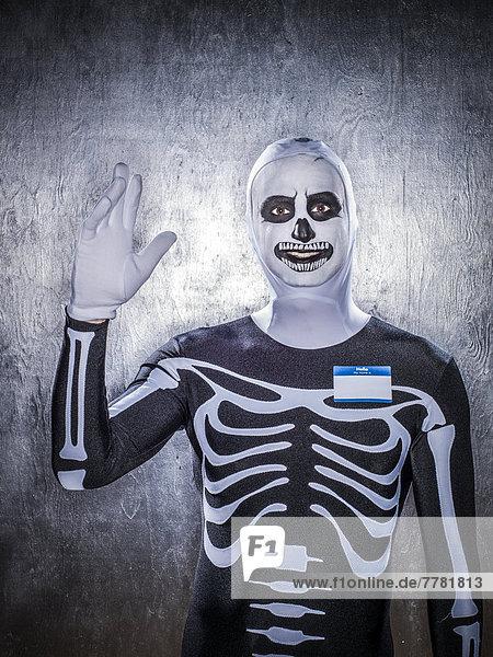 Europäer  Mann  Kleidung  Kostüm - Faschingskostüm