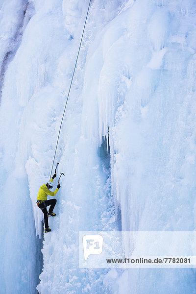 Europäer  Klettern