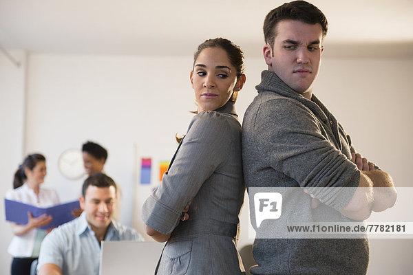 stehend  Mensch  Büro  Menschen  Business