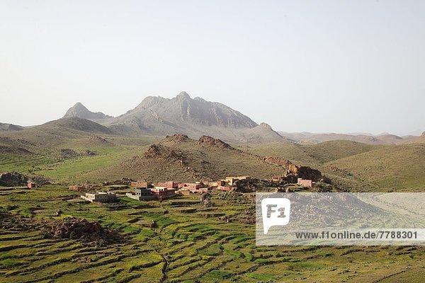 Dorf Marokko