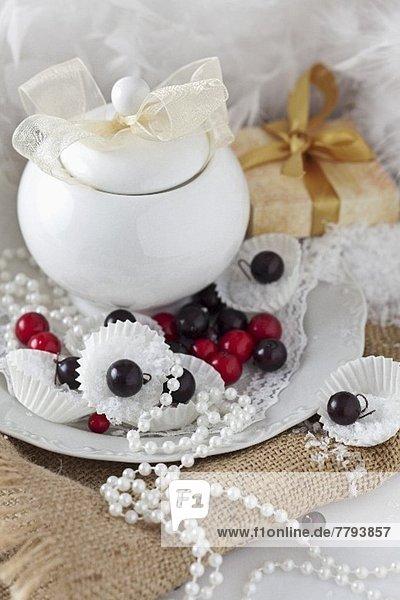 bedecken Weihnachten Dekoration Faden Perle Ball Spielzeug China Saite