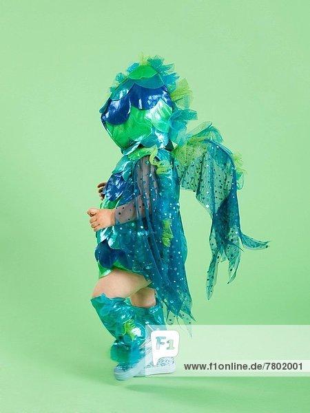 Fisch  Pisces  Kostüm - Faschingskostüm  Mädchen  Baby  Halloween