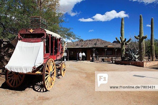 Vereinigte Staaten von Amerika  USA  Straße  Arizona  alt  Tucson