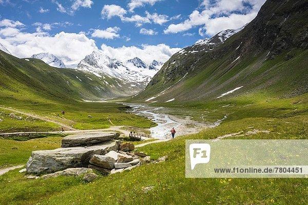 Tag  gehen  Tal  wandern  Alpen  Sonnenlicht  österreichisch