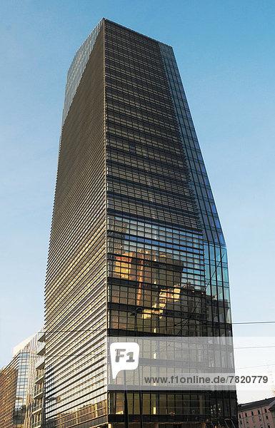 Italien  Lombardei  Mailand  Torre Diamante Wolkenkratzer