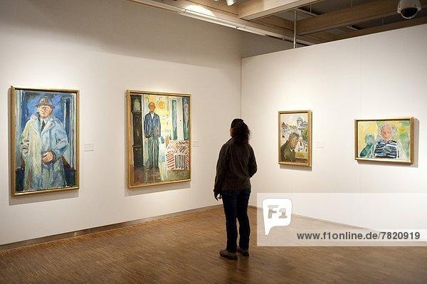 Europe  Norway  Oslo  Munch Museum