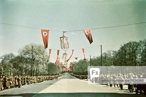 Berlin  Hauptstadt  Europa  arbeiten  Urlaub  Beruf  Fahne  Deutschland  Polizei